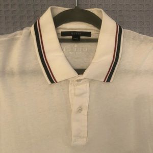 Gucci 3 button polo authentic fits like xl